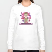 pixies Long Sleeve T-shirts featuring Illustrated Songs - Hey by Cristian Barbeito