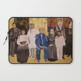 The Faces are Familiar Laptop Sleeve