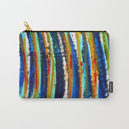 Tribal Stripes  Carry-All Pouch