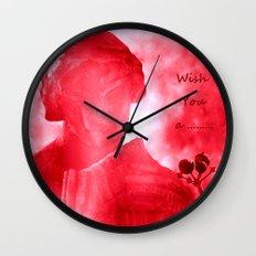 Wish You a ........ Wall Clock
