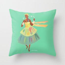 ORIXAS_ oxumaré Throw Pillow