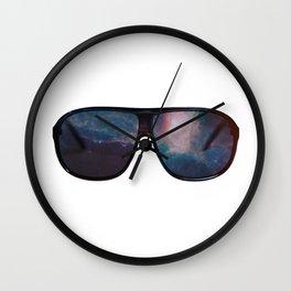 """""""Space Shades"""" Wall Clock"""