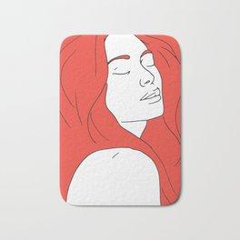 Woman in Reverie Bath Mat