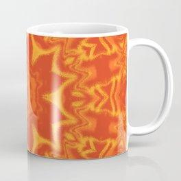 Red Orange and Yellow Kaleidoscope 5 Coffee Mug