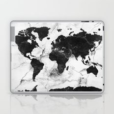 world map marble 3 Laptop & iPad Skin