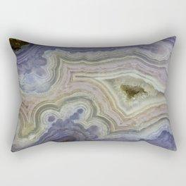 Royal Aztec Lace Agate Rectangular Pillow