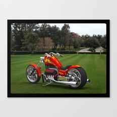 #JeffGordon #NASCAR V-8 Bike Canvas Print