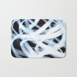 Scribbly Light Swoops Bath Mat