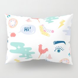 COLORFUL  GIRLS THINGS Pillow Sham