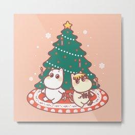 La Navidad es mejor juntos Metal Print