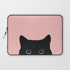 Black Cat Laptop Sleeve