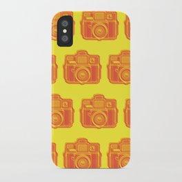 I Still Shoot Film Holga Logo - Yellow & Red iPhone Case