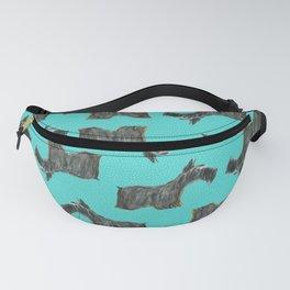 Scottie, Scottish Terrier,  Aberdeen Terrier Fanny Pack
