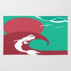 Mermaid Silhouette Rug
