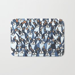 Many Boston Terriers Bath Mat