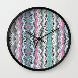 Love You Aztec Wall Clock