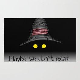 Maybe We Don't Exist - Vivi (Final Fantasy IX) Rug
