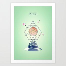 Planet 237 Art Print