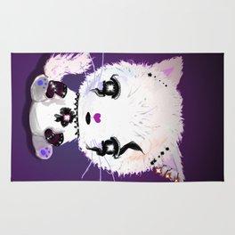 Punky Persian - Dark Purple Rug