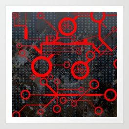 Tech Art Print
