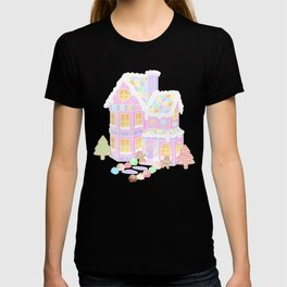Gingerbread House (pastel) T-shirt