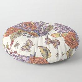Flowers8554 Floor Pillow