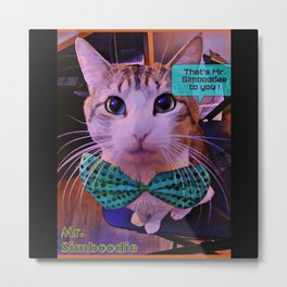 That's Mr. Simboodee to you! Metal Print