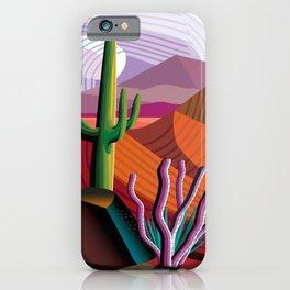 Black Canyon Desert iPhone Case