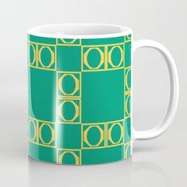 angle yellow & green Coffee Mug