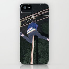 Training for the Olympics iPhone Case