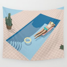 2 COOL 4 POOL Wall Tapestry