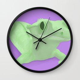 Warholesque Crestie Wall Clock