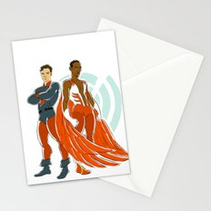 Classic spandex Stationery Cards