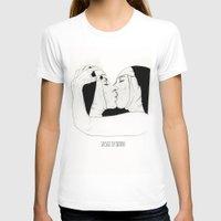 lesbian T-shirts featuring Lesbian Nuns  by sausageplayground