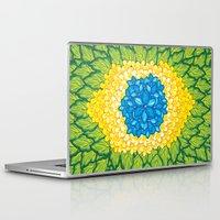 brasil Laptop & iPad Skins featuring Brasil Estampa by Henrique Abreu