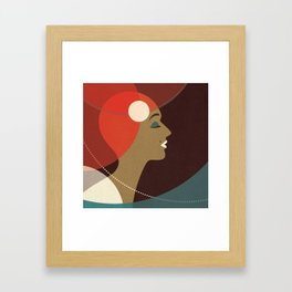 Venn Deco (Part V) Framed Art Print