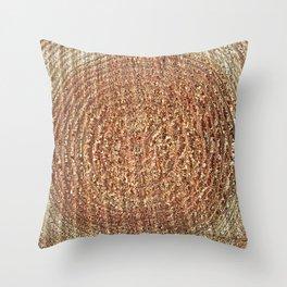Oak Rings Throw Pillow