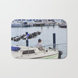 Summer at Lake Balaton Bath Mat