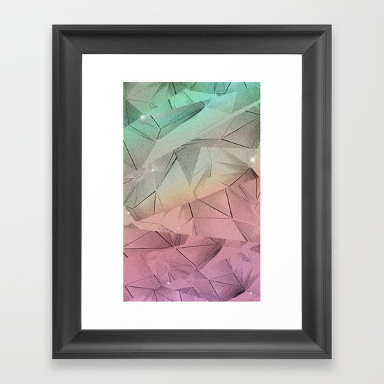 helios oikos (in huey) Framed Art Print