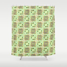 Modern Pattern Factory 04 Shower Curtain