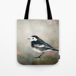 Little Pied Wagtail Tote Bag