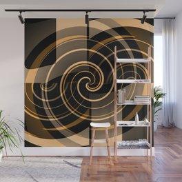 Caramel & Licorice Fudge Wall Mural