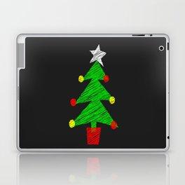 Chalk Board Tree Laptop & iPad Skin