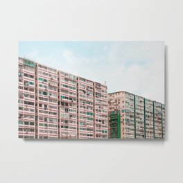 Crowded apartment Metal Print