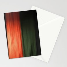 Janese kabuki drop curtain ~doncho~ Stationery Cards