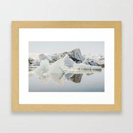 Icebergs XII Framed Art Print
