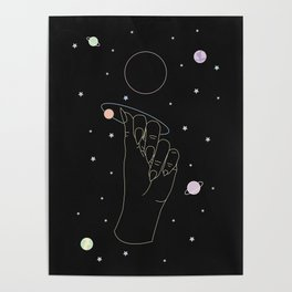 Rebirth - Moon Phase Illustration Poster