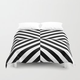 Chevronish Duvet Cover