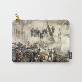 Civil War Naval Battle Carry-All Pouch
