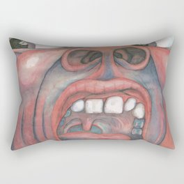 In the Court of the Crimson King Expanded Edition by King Crimson Rectangular Pillow